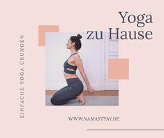 Vier einfache Yoga Übungen, die du zu Hause oder im Büro machen kannst.