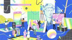 다음 @Behance 프로젝트 확인: \u201ceMagazine Illustration #2\u201d https://www.behance.net/gallery/50998835/eMagazine-Illustration-2