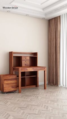With an abundance of storage space, Frodo study table with shelf has room for everything. Ideal for smart study arrangement, this is a package full of style and storage. The entire set is made up of solid sheesham wood, which can be identified with its beauteous grain pattern over the surface of the table. Wooden Study Table, Study Tables, Wooden Street, Home Comforts, Storage Spaces, Shelves, Abundance, Room, Surface