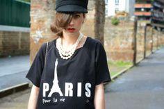 Paris pour la vie!  New #t-shirts Très Chic http://blog.3chic.com/2014/04/paris-pour-la-vie.html