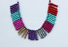 Plan B anna evers DIY Multi color necklace zoom