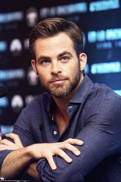 Chris Pine - 05/07/2013 - Star Trek Into Darkness Press Conference - Mexico City