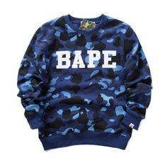 a7ff2ad9 Cardio**NWT Men's Bape Logo Pattern A Bathing Ape Icon Smart Camo Sweater  Jacket