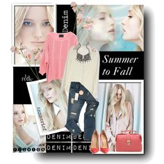 Summer to Fall!, created by annacrisf on Polyvore