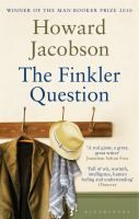 The Finkler Question by Howard Jacobson.  Former BBC radio producer Julian Treslove & Sam Finkler, a popular Jewish philosopher, are old school friends who have never lost touch with each other - or with their former teacher, Libor Sevcik. Now, both Libor & Finkler are recently widowed. When the three dine at Libor's apartment, it's a bittersweet evening of reminiscence.