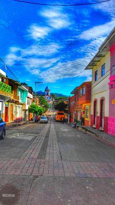 Calle principal Quipile