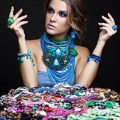 """Bizhunet - поставщик бижутерии"" - контакты, товары, услуги, цены Crochet Necklace, Jewelry, Fashion, Crochet Collar, Jewellery Making, Moda, Jewelery, Jewlery, Fasion"