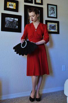 Sense & Sensibility Patterns - 1940's Swing Dress