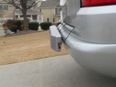 This customized tailsign fits perfectly on this Mercedes SUV.  No bolts or screws to mount it.  Two suction cups, two straps, and a cargo bar holds tailsigns securely on your bumper without any shaking or moving while driving. Only weighs 10 lbs. and very easy to place and adjust on the bumper.  Visit www.tailsigns.com for more info....