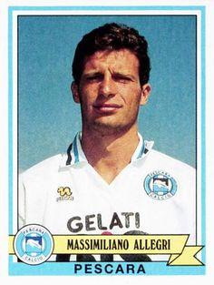 Massimiliano Allegri quando giocava. Fantasista talentuoso e pigro, così veniva ricordato all'epoca