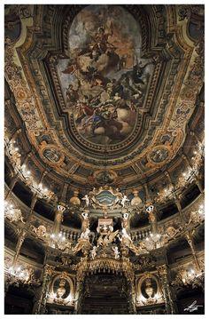 "alicenin: "" Margravial Opera House,Bayreuth, Germany Photo by Emanuele Leoni """