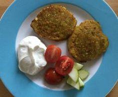 Kürbis-Zucchini-Puffer