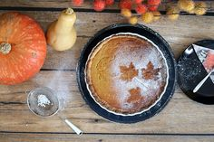 Herbstküche: Pumpkin-Pie – notyourdarling Thanksgiving Food, Fall, Rezepte