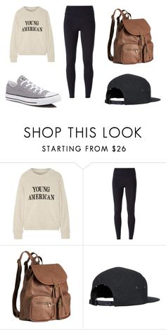 """Casual Style"" by chaeyounglee on Polyvore featuring The Elder Statesman, NIKE, H&M, Converse and casual"