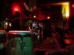 Grab a drink and watch talented salsa dancers at Nuyorican Cafe, Viejo San Juan, Puerto Rico