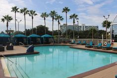 Pool Area at the DoubleTree by Hilton Orlando Airport Hotel Orlando Airport, Airport Hotel, Airport Shuttle, Hotel Reviews, Outdoor Decor, Travel, Viajes, Trips, Tourism