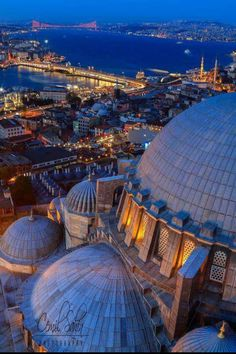 Details of the domes of the Blue Mosque, . Turkey Vacation, Turkey Travel, Places Around The World, Around The Worlds, Voyage New York, The Bucket List, Blue Mosque, Hagia Sophia, Photos Voyages