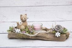 Driftwood, Wood Art, Easter, Table Decorations, Spring, Flowers, Crafts, Diy, Inspiration