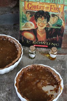 Treacle Tart Inspired by J.K. Rowling's Harry Potter and the Goblet of Fire
