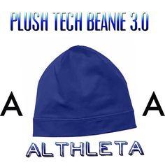 Althleta Plush Tech Beanie 3.0 Sapphire Blue Plush Tech Beanie 3.0 by Athleta.. Breathable, soft material. Athleta Accessories Hats