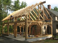 New Timber Frame Projects | Amstutz Woodworking, LLC24x36