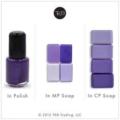 Soapberry Purple -- Stable and non-bleeding in soap. Neon Purple, Bright Purple, Pink, Soap Colorants, Soap Making, Nail Polish, Lipstick, Lip Products, Flat