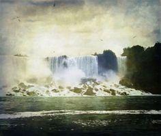 Mighty Niagara - by Lianne Schneider #niagarafalls #photoart #lianneschneider