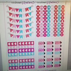 Making functional singles sheets. Will be available some time tomorrow  #stickers #plannerstickers #planner #erincondren #erincondrenlifeplanner #eclp #jlynnpaperco #etsy #planneraddict #plannerlove #plannerjunkie #valentines #valentinesday #sale