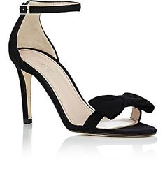 84c2c112b0e0 Barneys New York Bow-Embellished Ankle-Strap Sandals - Heels - 504749302