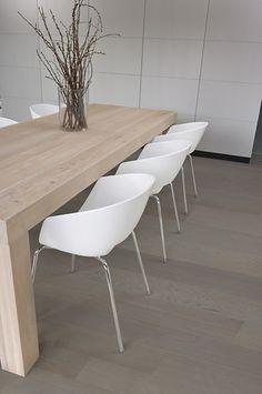 Rubio Monocoat Slate Gray - dining table