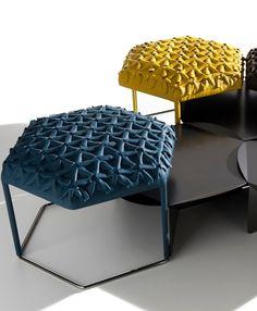 Hive Ottoman by B & B Italia   #design Atelier Oï @B&B Italia