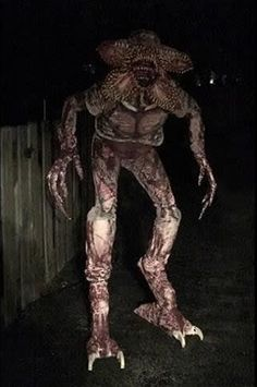 Post with 1637 votes and 110361 views. Tagged with halloween costume, demogorgon, stranger things, strangerthings, demogorgoncosplay; Stranger Things Theories, Stranger Things Monster, Demogorgon Stranger Things, Scary Halloween Decorations, Halloween Haunted Houses, Halloween Ideas, Halloween 2019, Stranger Things Halloween Decorations, Alien Halloween