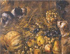 Naturaleza muerta, de Martín Boneo (1914). Óleo s/ tela. Colección de la Pinacoteca del Ministerio de Educación y Deportes.