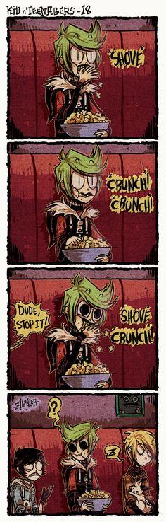 +KnT - Crunch!+ by Z-Doodler.deviantart.com on @DeviantArt