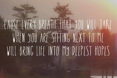 Your Call- Secondhand Serenade