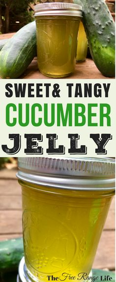 Are you looking for something other than pickles to preserve your cucumbers? Try this sweet and tangy cucumber jelly for something light and refreshing!
