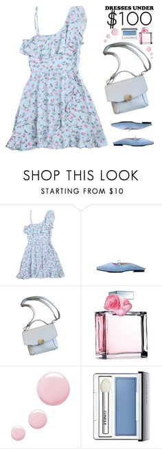 """""""Under $100: Summer Dresses"""" by justkejti ❤ liked on Polyvore featuring Ralph Lauren, Topshop, Clinique, floraldress, under100, zaful and showsomeshoulder"""
