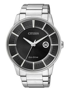 Citizen Eco-Drive men's watches with Stainless Steel Case and Bracelet. It also have Eco-Drive Movement & Date Calender.