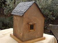 Vista trasera de la casa Bird, Outdoor Decor, House, Home Decor, Home, Decoration Home, Room Decor, Birds, Haus