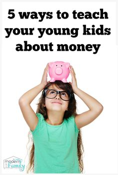 Teaching your young children about money