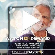 John Paul Jackson's First Public Appearance [Daystar.com]