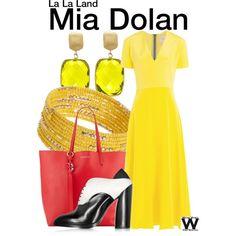 Inspired by Emma Stone as Mia Dolan in 2016's La La Land