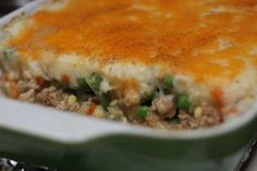 Shepherd's Pie Recipe.  You won't need the luck of the Irish to make this easy recipe turn out right. Just a little Trader Joe's.