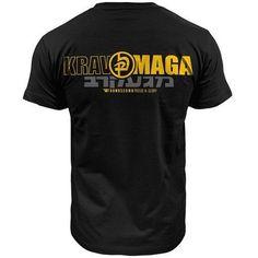 Krav Maga Thumbsdown Proud & Glory, MMA T-shirt #kravmaga