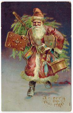 A Busy Santa Claus