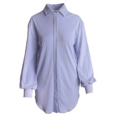 Jorja Button Up ~ Lilac Button Down Shirt Dress, Lilac, Casual Dresses, Raincoat, Women Wear, Dressing, Stylish, Jackets, Fashion Design