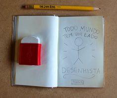 #diadodesenhista #desenho #draw #drawing #illustration #frase #inspiração #sketchbook #desenho #desenhar #ilustra #ilustração  Dê o primeiro passo e comece!!!