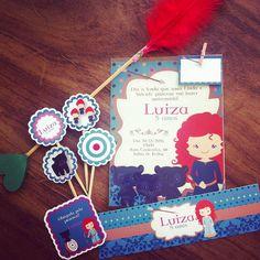 Kit Festa Valente #papelcomdesign #papelariapersonalizada #festaspersonalizadas #lembrancinhas #festainfantil #especialgifts #valente #convite