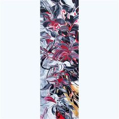 "Daily Paintworks - ""Flowers Reflection IV"" - Original Fine Art for Sale - © Khrystyna Kozyuk"