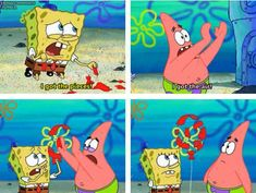 """When the illustrators could have easily drawn an air bubble but said fuck it, this is funnier. 